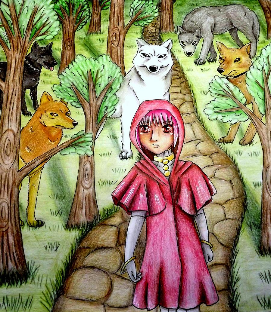 Wolf's Rain by bunnyrabb567