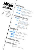 My CV Design by jcubic