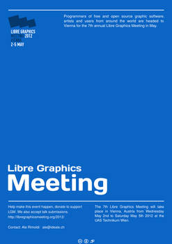 Poster - Libre Graphics Meeting Conference