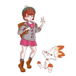 Pokemon Sword/Shield Trainer by Tangelo12