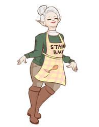 Elf Lady by Tangelo12