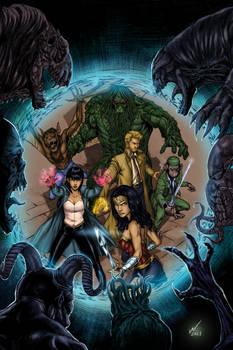 Justice League Dark Colors