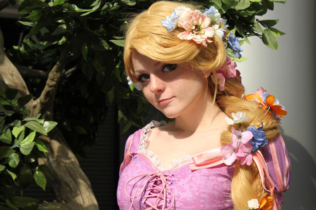 11 Gorgeous Tangled Gifs: Rapunzel (Tangled) Disney By Kitsune-nyan On DeviantArt