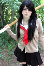 Japanese schoolgirl by Melissa-Lissova