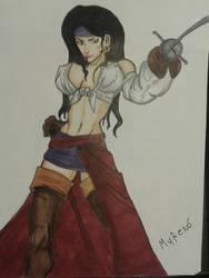 Pirate Woman by MugenMoray