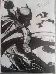Batman Inked by MugenMoray