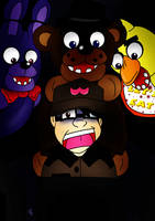 Five Nights At Freddy's by LillithMalice