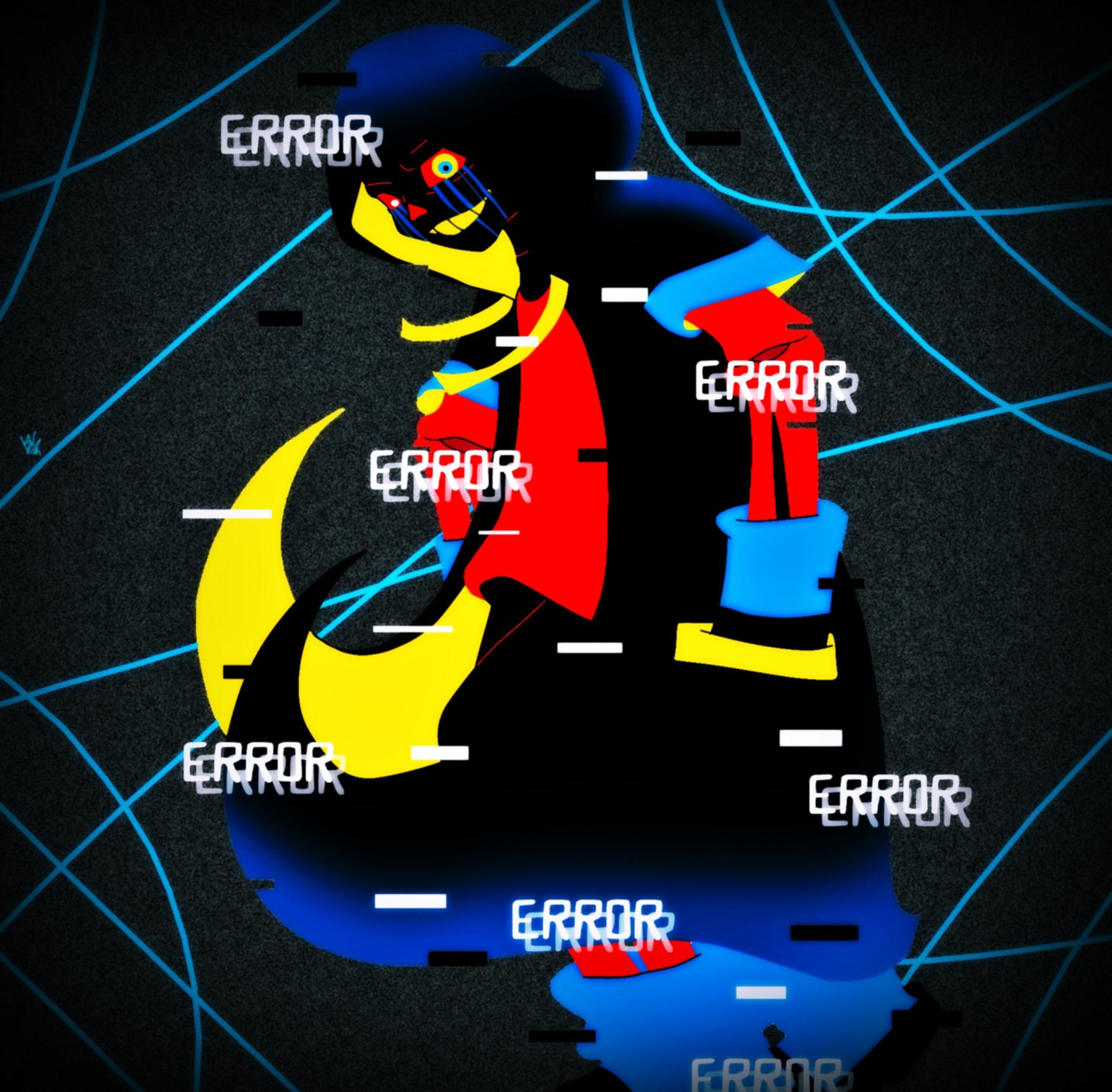 Error!Sans -Redux- By LillithMalice On DeviantArt