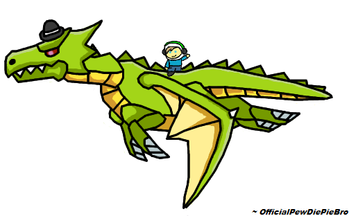 Handsome Dragon - PewDiePie by OfficialPewDiePieBro