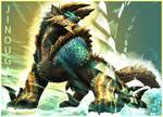 Jinouga-Thunder Wolf Wyvern-