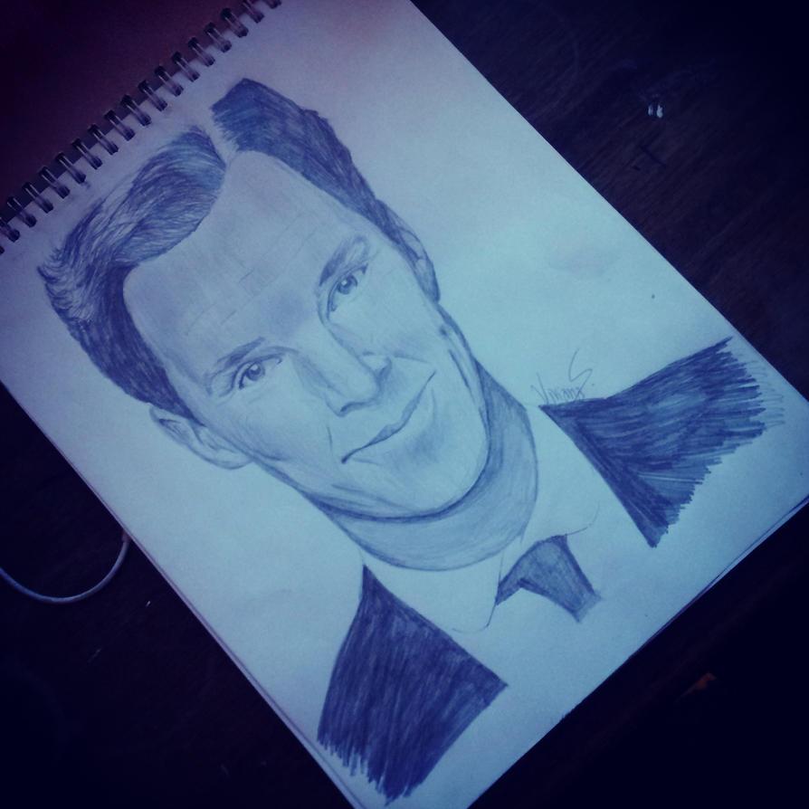 Benedict Cumberbatch by ViviMaslow