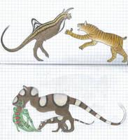Future mammals (and octodactylopod) by Preradkor