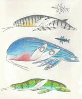 Marine octodactylopods by Preradkor