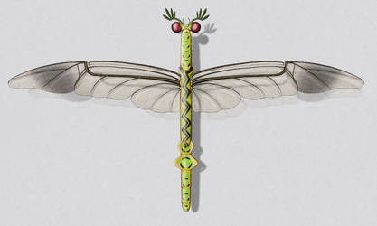 Rattle dragonbeetle by Preradkor