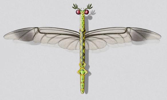 Rattle dragonbeetle