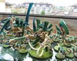 Tyranid hive tyrant by Preradkor