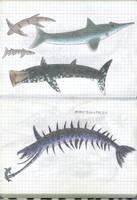 Fauna of planet Ullr 6 by Preradkor