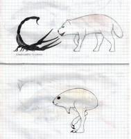 Cold desert creatures by Preradkor