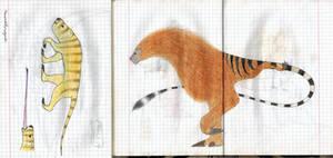 Weird mammals by Preradkor