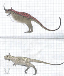 Herbivorous avipods by Preradkor