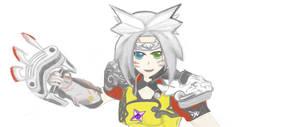 Final Fantasy - A Realm Reborn - Tia/ Monk