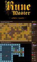 Rune Master graphic Roguelike by Nevanda