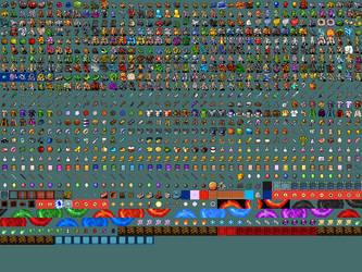 nethack tiles 32x32px by Nevanda