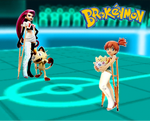 Brokenmon: Jessie vs Misty by TheZac