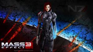 Wallpaper - Commander Shepard