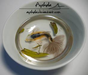 3D Resin fish by Ayshala