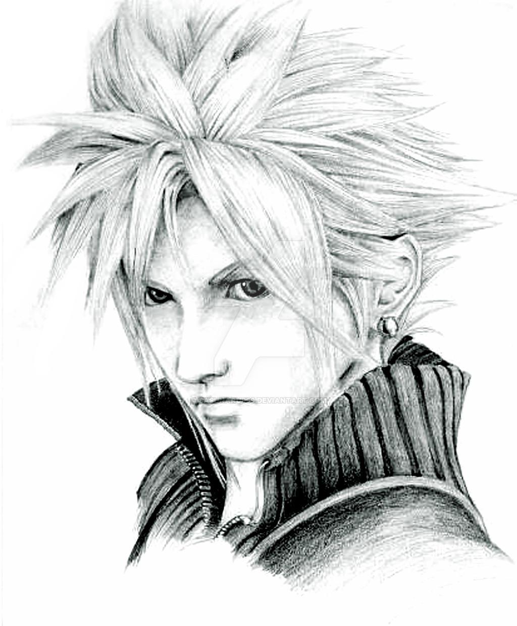 Final Fantasy Cloud Strife Wallpaper: Cloud Strife Final Fantasy VII By Sasunaru069 On DeviantArt