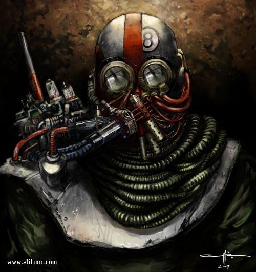 fallout mask concept by ali-tunc