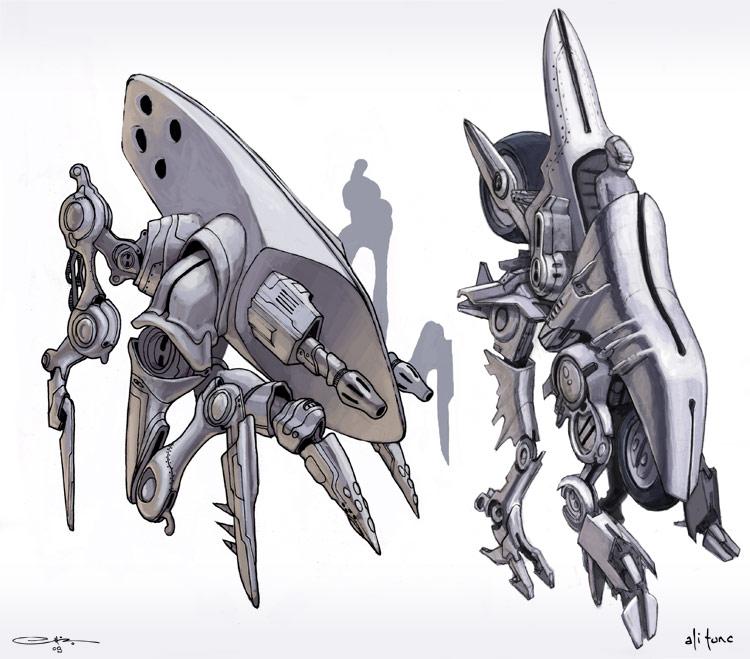 robots by ali-tunc