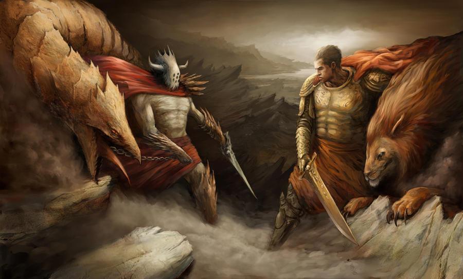 good vs evil by ali-tunc