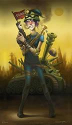 Tank Girl by ali-tunc