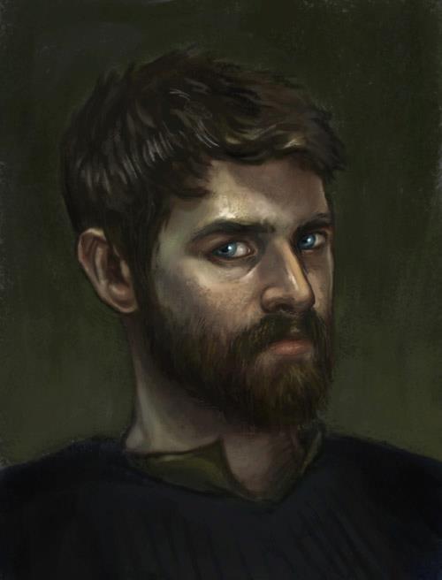 self portrait by ali-tunc