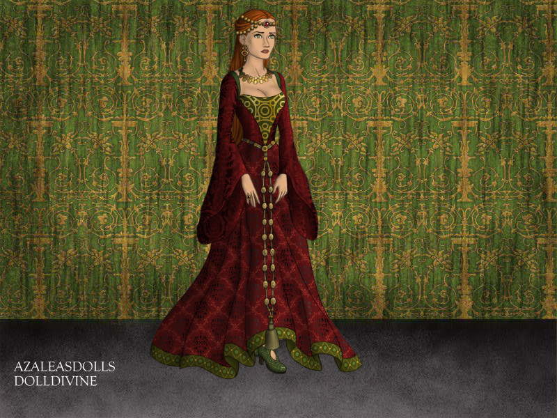 Medieval Queen by misscaribbean16