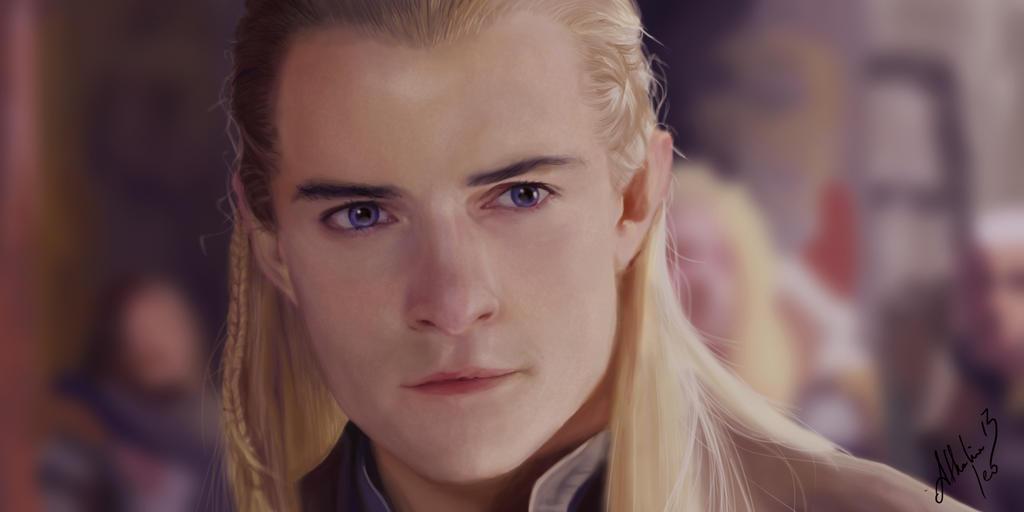Legolas - Elf Archer by athalia13 on DeviantArt