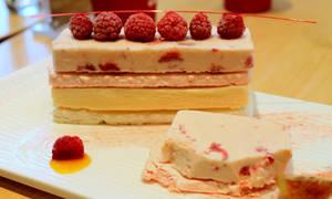 Raspberry ice (cream)