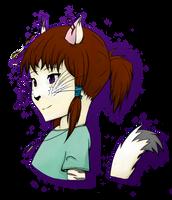 Maiko, Emerray's little sister by NotYourAverageAlien