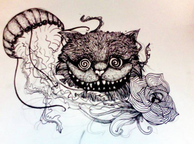 The Outline Of My Chest Piece Tattoo By Alotofmeows On