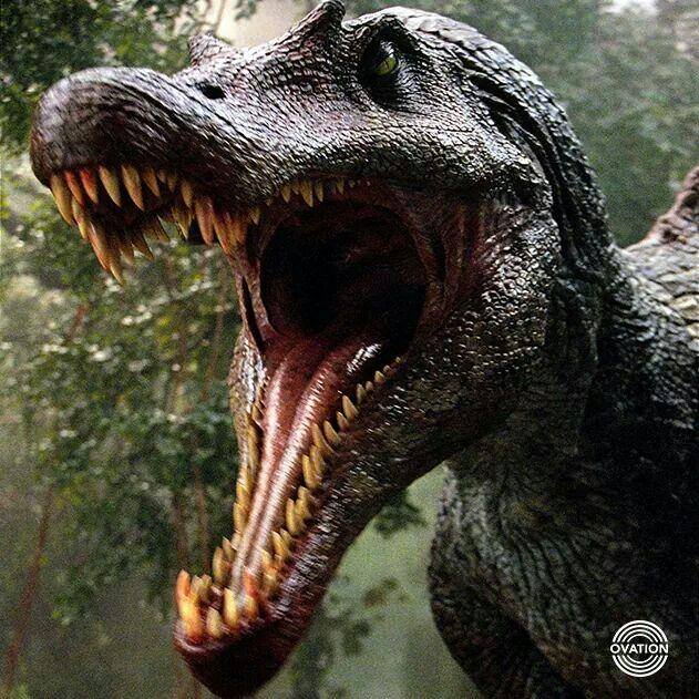 Spinosaurus Breaks T-rex's Neck in Death Battle! by ...