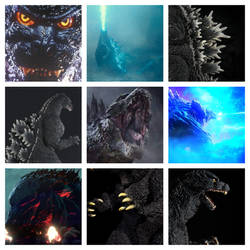 Godzilla Aesthetic by Kiryu2012