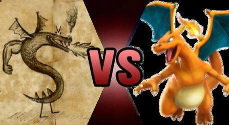Death Battle Claim: Trogdor vs Charizard by Kiryu2012