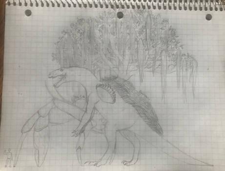 Biojirasaurus (Art by Superdude327)