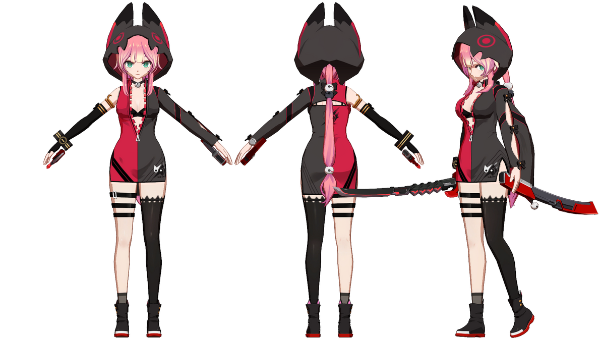 MMD] SoulWorker Chii Aruel by Horiew on DeviantArt