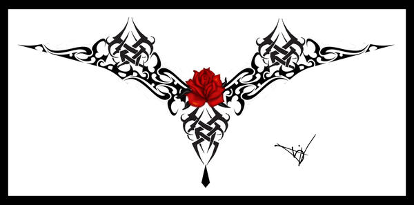 rose tattoo drawings