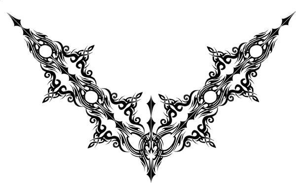 Gothic Tattoo by ~Quicksilverfury on deviantART