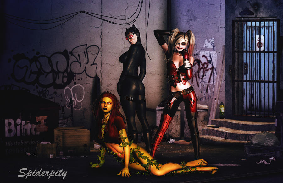 Gotham Sirens by PGandara