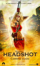 Headshot Movie Poster by PGandara